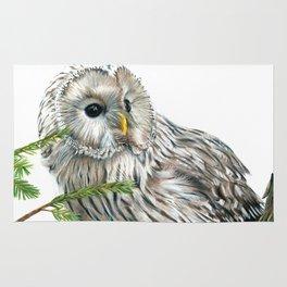 Ural Owl Rug