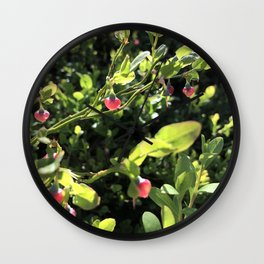 Heart of the forest Wall Clock