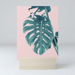 Monstera Delight #3 #tropical #decor #art #society6 Mini Art Print