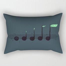 Biosphere Orchestra Rectangular Pillow