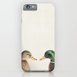 Two Ducks iPhone Case