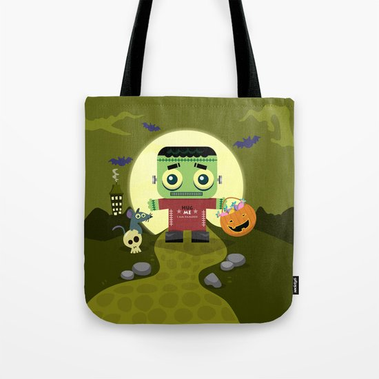 Frankie goes to Halloween Tote Bag