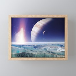 gAlaxY PLANET : Out of This World Framed Mini Art Print