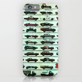 Vintage 1970 Hot Wheels Redline Poster iPhone Case