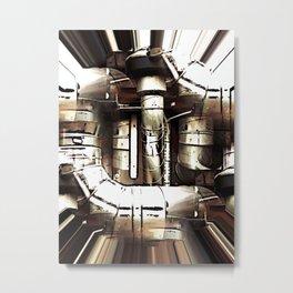 The Hub Metal Print