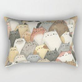 Sea of Cats Rectangular Pillow
