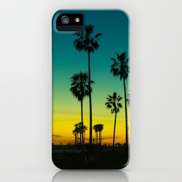 venice california at dusk iPhone Case