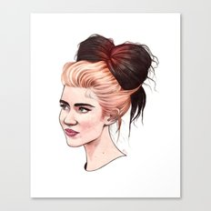 Grimes, Met Gala Canvas Print