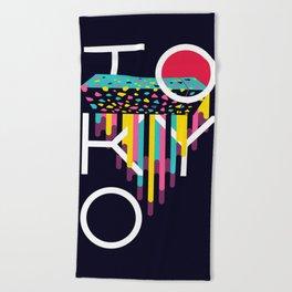 Tokyo - Japan Beach Towel
