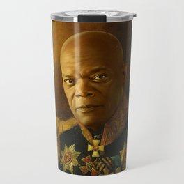 Samuel L. Jackson - replaceface Travel Mug