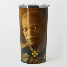 Samuel L. Jackson - replaceface Travel Mug