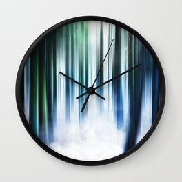 Magical Forests Wall Clock