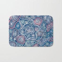 abstract geology Bath Mat