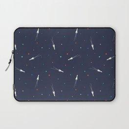 Rocket Ship Pattern Laptop Sleeve