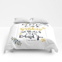 TOWARDS SUNSHINE Comforters