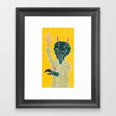 Tim McFly Framed Art Print