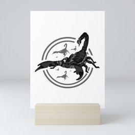 Scorpion GREY 2 Mini Art Print
