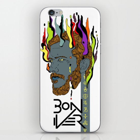 Bon Iver iPhone & iPod Skin