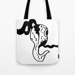 Ghost Crack Tote Bag