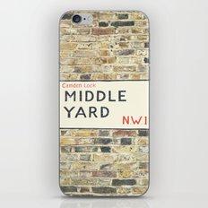 Middle Yard - London iPhone & iPod Skin