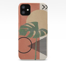 Nature Geometry I iPhone Case