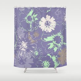 Late Summer Lavender Shower Curtain