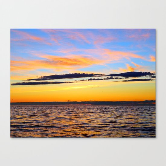 Zen Seascape Canvas Print