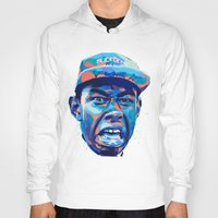 tyler the creator Hoodies featuring TYLER THE CREATOR: NEXTGEN RAPPERS by mergedvisible