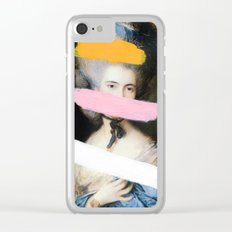 Brutalized Gainsborough 2 Clear iPhone Case
