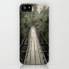 Forest Bridge iPhone Case