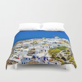 Santorini Duvet Cover