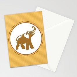 Elephant Print Stationery Cards