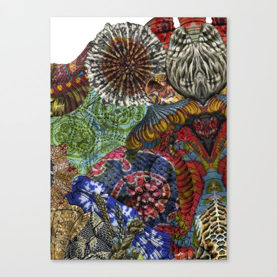 Psychedelic Botanical 3 Canvas Print