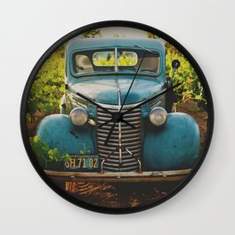 Classic Vintage Car Wall Clock