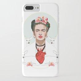 Frida Kahlo (Light) iPhone Case