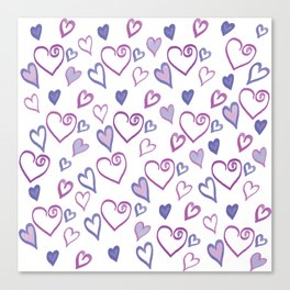 I Heart you a Ton! Canvas Print