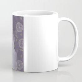 Folky Lace Flowers Coffee Mug