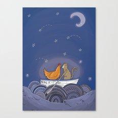 The Lady El Canvas Print