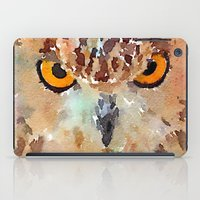 owl iPad Cases featuring Owl by contemporary