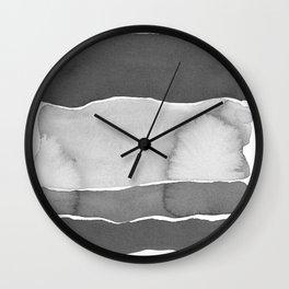 Shades of gray Wall Clock