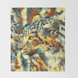 AnimalArt_Leopard_20170606_by_JAMColorsSpecial Throw Blanket