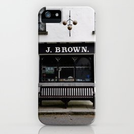 Store Front From the Past iPhone Case