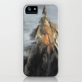 Top of the mountain iPhone Case