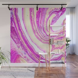 Marble pink and gold Wall Mural