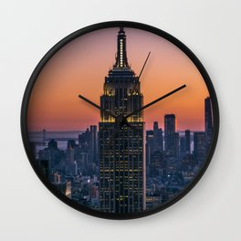 New York #society6 #decor #buyart Wall Clock