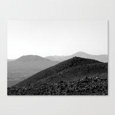 Sand dunes, Fuerteventura. Canvas Print