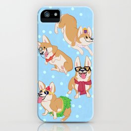 For the Love of Corgis iPhone Case