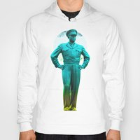 general Hoodies featuring general, Eisenhower by seb mcnulty