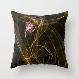 Summer lines 5 Throw Pillow