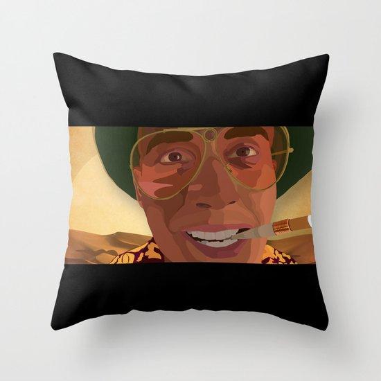 Bat Country Throw Pillow